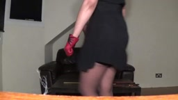 Miss Sultrybelle hand spanking on the bare.