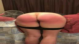 1/3 First recorded spanking!!