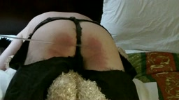 CANED IN SPANKING SHORTS
