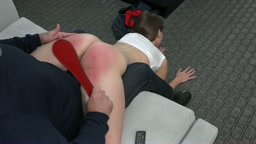 Exposed Wheelbarrow Spanking - The Definition of Naughty 2- Chrissy Marie