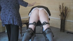 Judicial caning by Lady Pandora