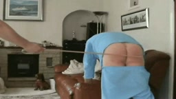 Spanked, caned and sent to bed in the afternoon