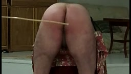 after the strom (straps).... caning