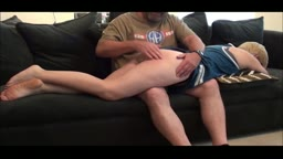 NaughtyNey gets spanked...and paddled, and strapped