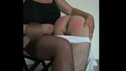 Our First Spanking Part 2