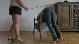 Caned by wife yet again
