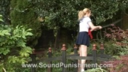 Sound Punishment - Jap Schoolgirl Samurai sword spanking
