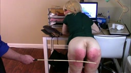 Office Tart Punished Severely (NONSEXUAL BOTTOM CAM VERSION PART TWO IN 1920 x 1080 HD - HIGHEST QUALITY LARGE FILE!)