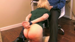 Office Tart Punished Severely & Sexually Dominated Post Spanking (SEXUAL BOTTOM CAM PORTION IN 1920 x 1080 HD - HIGHEST