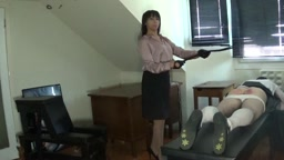 12 strokes of the tawse by Miss Sultrybelle