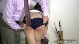 Schoolgirl Vandal's Punishment