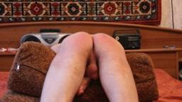 Bare bottom whipping