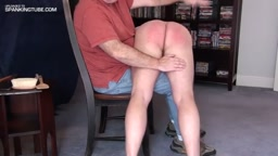 spanked by Ispankbadboyz part 2 middle spanking