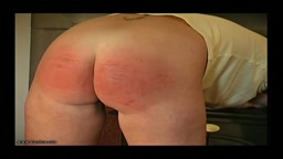 Shoplifter Caned - Caned Schoolgirl