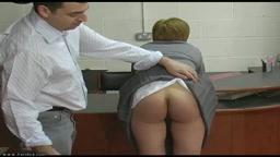 3 in Trouble - Caned Schoolgirl