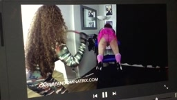 Whipping sissy Sapphire