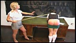 Not Taking That - Caned Schoolgirl