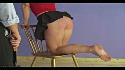 Strapped Bare - Spanking Online
