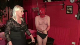 Severe Hand Tawsing by Mistress Linda and Mistress Vanessa