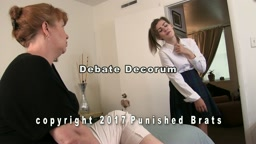 Dahlia, Mari and Miss Lisa in Scenes of Spanking