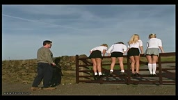 Cold Comfort Farm - Caned School Girl
