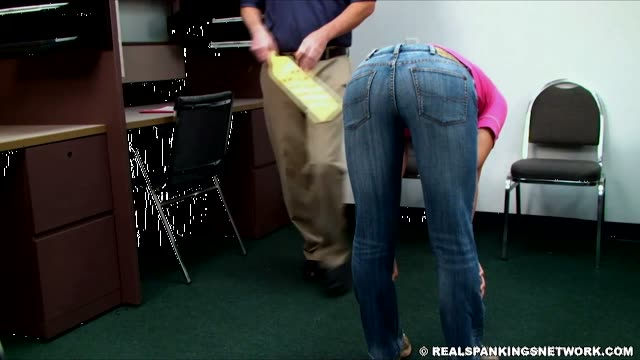 Paddle Spankings In Jeans