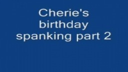 Cherie's birthday Part 2