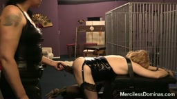 The Spanking Of SallyAnne - Mistress Dark Faye Spanked Her Sissy Slave