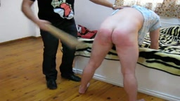 My Very First Spanking Video in 2008 Part Two