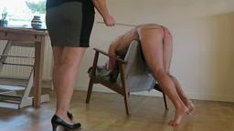 Me getting the cane again..