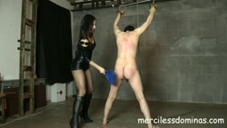 Suffer For Lady G - First Painful Spanking Experience for Slave