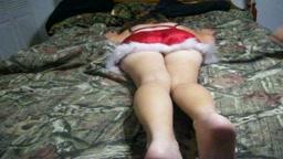 Christmas spanking part 1