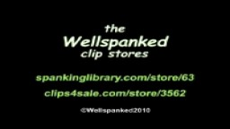 Chrissie's Double Jeopardy from Wellspanked
