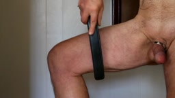 self discipline - the thigh - Bound 2 Please (B2P) ruler as the instrument