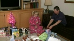Blue Christmas: Bratty Little Girl Paddled in PJs FULL VIDEO