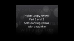 nylon loopy promo