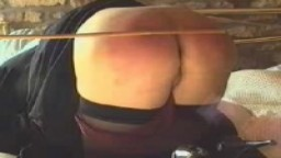 Hard Caning on the Bum