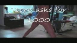 Steve asked for 1000