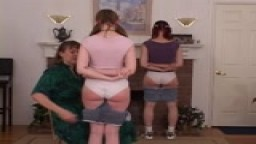Two Severely Punished Girls