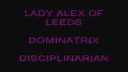 Lady Alex Domestic Spanking