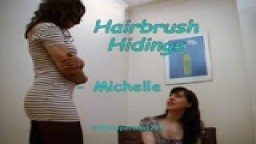 Hairbrush Hidings - Michelle from Wellspanked