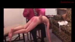 Daija Spanked for Asking for Money