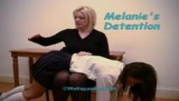 Melanie's Detention from Wellspanked