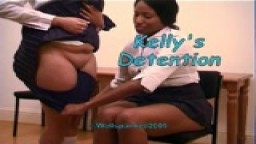 Kelly's Detention from Wellspanked