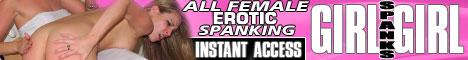 Girl Spanks Girl Banner