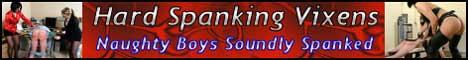Hard Spanking Vixens Banner